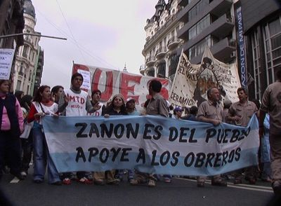 """Zanon is the People's - Support the Workers"""